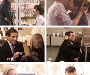 couples, jim halpert, and the office image