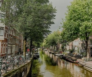 amsterdam, boats, and netherlands image