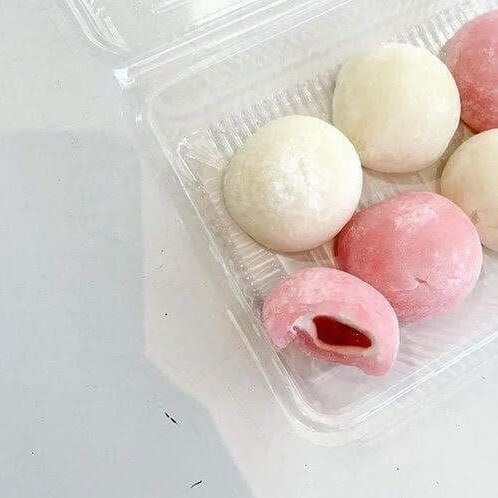 food, aesthetic, and mochi image