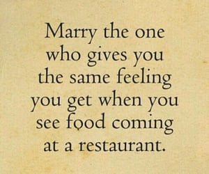 food, love, and marry image