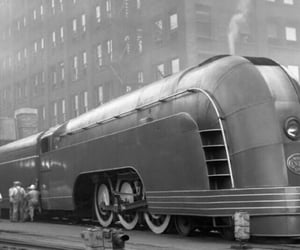 30s, art deco, and train image