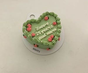 cake and green image