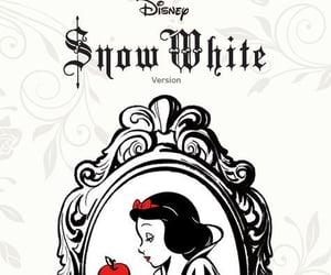 blanche neige, snowwhite, and disney image