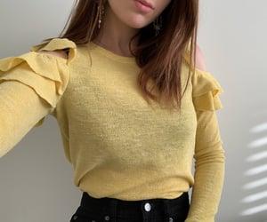 fashion, knit, and sale image