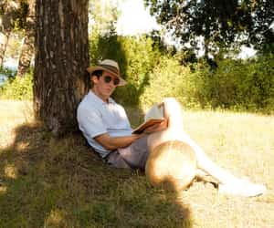 reading, relax, and shade image