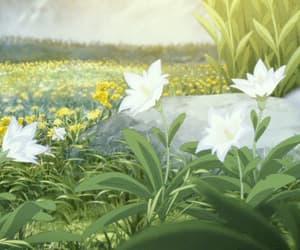 anime, spring, and anime gif image