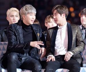 jin, kim nam-joon, and rm image