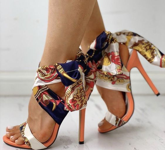 fashion, pattern, and high heels image
