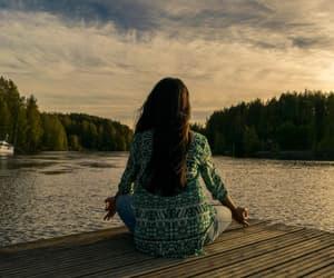 health and meditation image