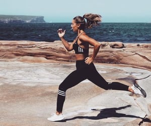 fitness, sport, and adidas image