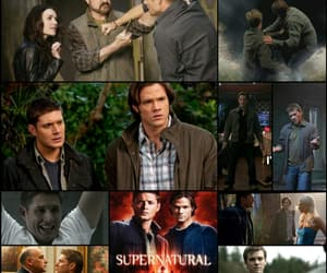 article, castiel, and dean winchester image