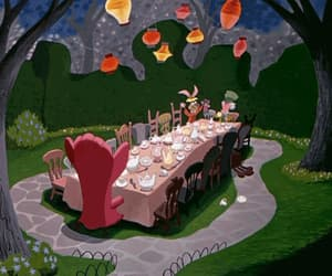 1950s, gif, and mad hatter image