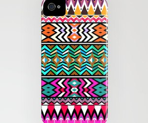 case, girl, and aztec image