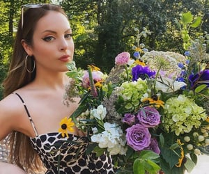 flowers and elizabeth gillies image