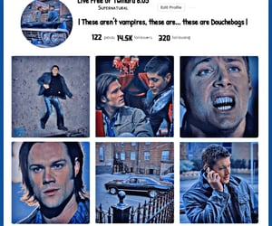 aesthetic, dean winchester, and fandom image