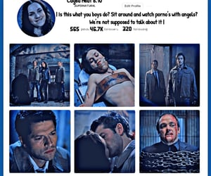 dean winchester, edit, and season 6 image
