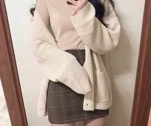 autumn, business casual, and clothes image