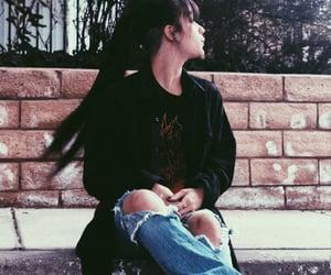 black, emo, and rock image