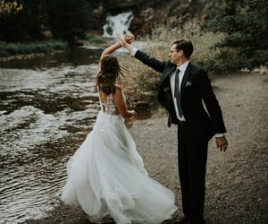 bride, groom, and photography image