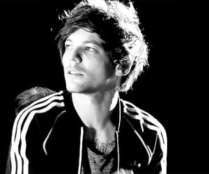 black and white, one direction, and gif image