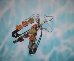 basics, earrings, and flores image