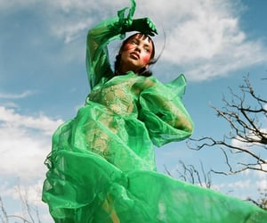 editorial, fashion, and green image