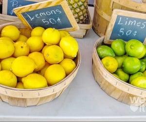 lemon, tropical, and fruit image
