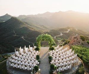 ceremony, weddings, and mountains image