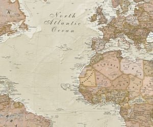 background, map, and vintage image