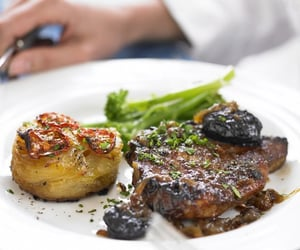 garlic, onion, and potato image