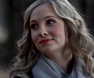 the vampire diaries and caroline forbes image