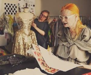 Alexander McQueen, designer, and high fashion image