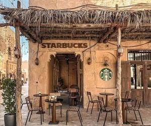 starbucks, coffee, and Dubai image