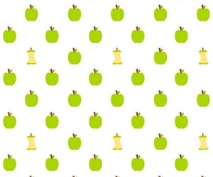 green apple, pattern, and scrapbook image