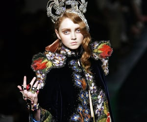 Lily Cole, fashion, and haute couture image