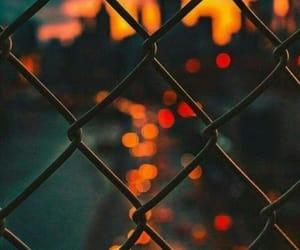 закат, красиво, and огни image