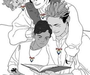tmi, alec lightwood, and magnus bane image