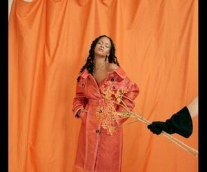 rihanna, orange, and riri image