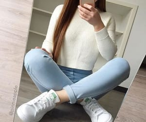 casual, girly, and sexy image