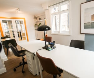 architecture, interior design, and office space image