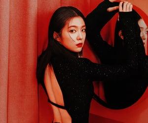 aesthetic, girl, and red velvet image