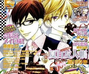 anime, magazine, and poster image