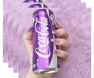 aesthetic, lavender, and beverage image