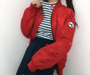 fashion, heart, and red image
