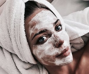acne, face mask, and fitness image