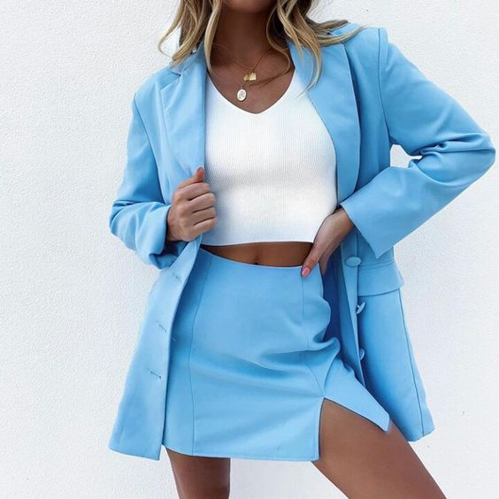 article, blazer, and shopping image