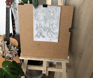 art, black, and hobby image