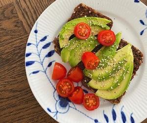 avocado, delicious, and tomato image