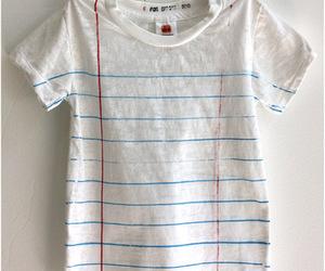 t-shirt, shirt, and notebook image