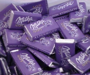 chocolate, milka, and sweet image